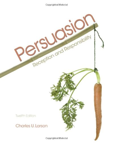 Persuasion Reception and Responsibility 12th 2010 edition cover