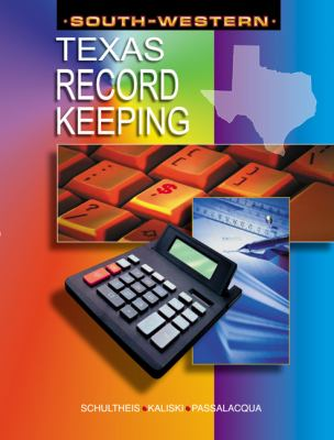 Recordkeeping for Texas   2004 9780538437509 Front Cover