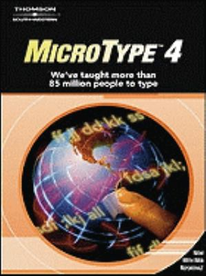 Microtype 4. 0 Windows Site License  3rd 2006 (Revised) 9780538440509 Front Cover