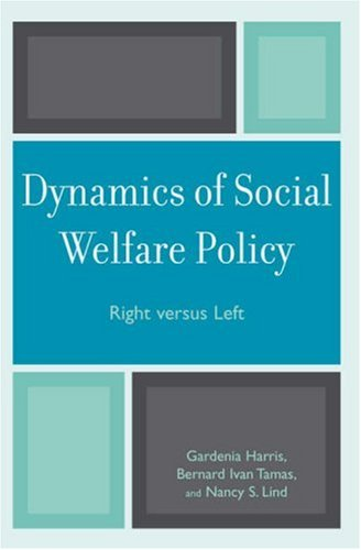 Dynamics of Social Welfare Policy Right Versus Left  2007 edition cover