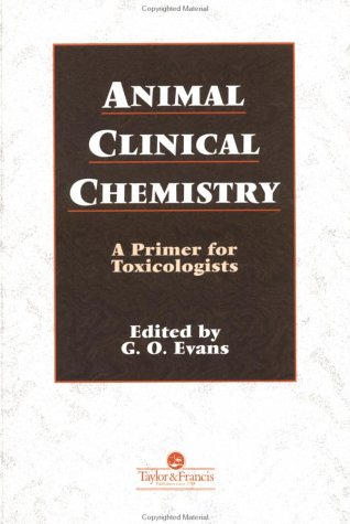 Animal Clinical Chemistry   1996 9780748403509 Front Cover