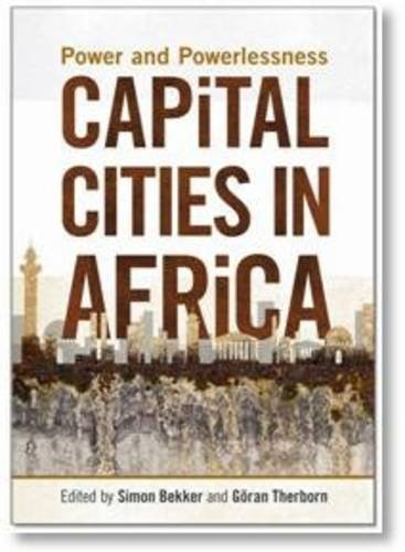 Capital Cities in Africa Power and Powerlessness  2012 edition cover