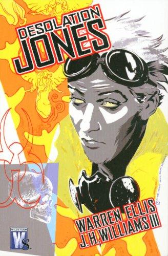 Desolation Jones   2006 edition cover