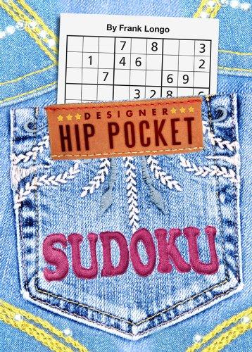 Designer Hip Pocket Sudoku  N/A 9781402777509 Front Cover