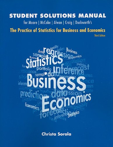 Practice of Statistics for Business and Economics  3rd 2011 edition cover