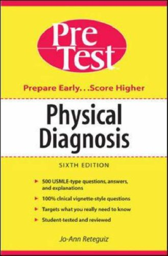 Physical Diagnosis  6th 2006 (Revised) 9780071455510 Front Cover