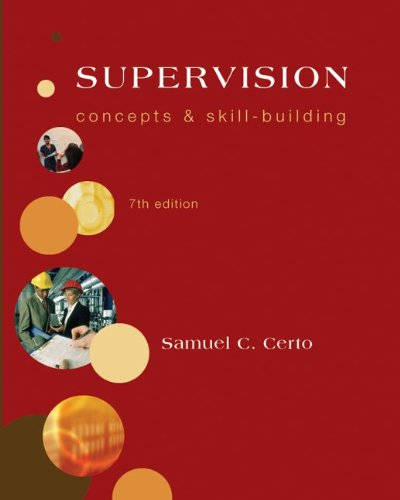 Supervision Concepts and Skill-Building 7th 2010 edition cover