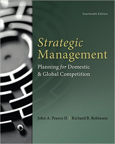 Strategic Management  14th 2015 9780077862510 Front Cover