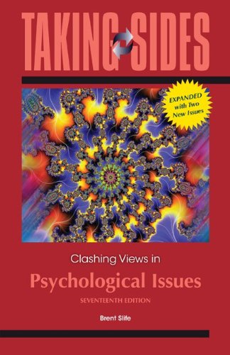 Taking Sides: Clashing Views on Psychological Issues, Expanded  17th 2013 9780078050510 Front Cover