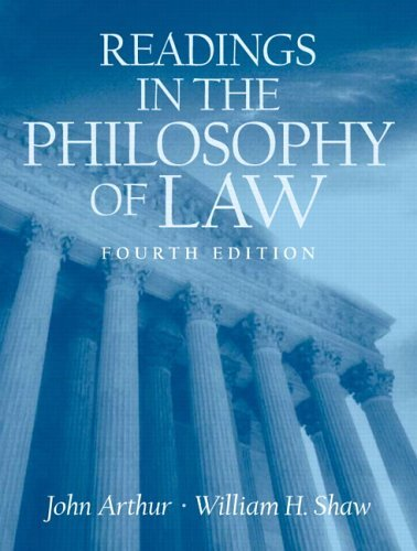 Readings in the Philosophy of Law  4th 2006 edition cover