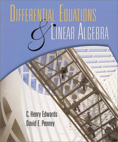 Differential Equations and Linear Algebra   2001 edition cover