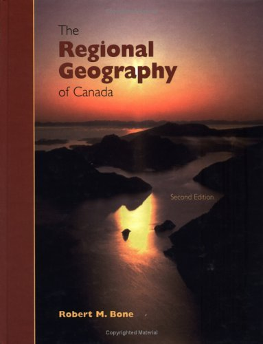 Regional Geography of Canada  2nd 2002 (Revised) edition cover