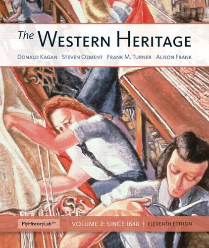 Western Heritage  11th 2013 9780205434510 Front Cover