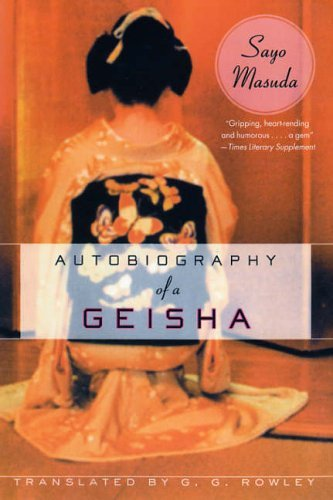 Autobiography of a Geisha  N/A edition cover