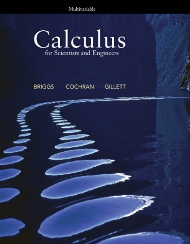Calculus for Scientists and Engineers, Multivariable   2013 edition cover