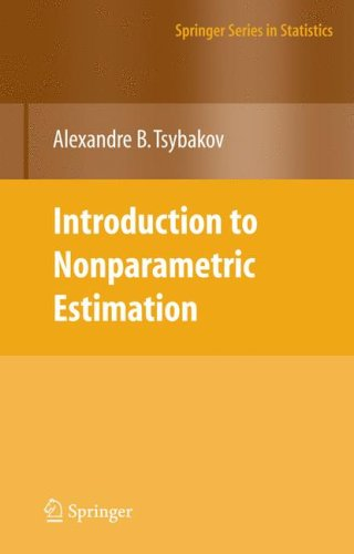 Introduction to Nonparametric Estimation   2009 edition cover
