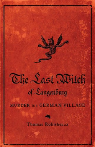 Last Witch of Langenburg Murder in a German Village  2009 edition cover