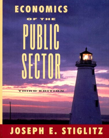 Economics of the Public Sector  3rd 2000 edition cover