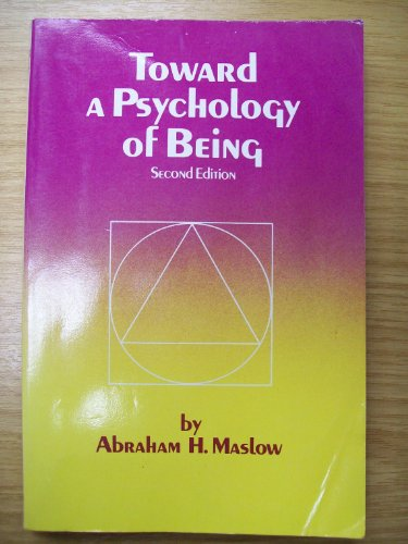 Toward a Psychology of Being 2nd 1968 edition cover