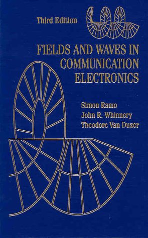 Fields and Waves in Communication Electronics  3rd 1994 (Revised) edition cover