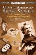 Classic American Short Stories 17 Stories from Hawthorne to Fitzgerald  2002 edition cover