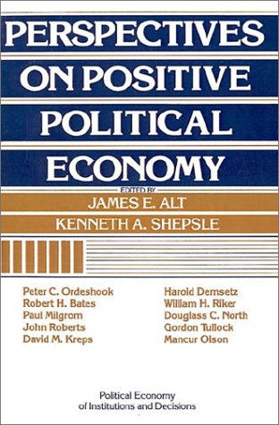 Perspectives on Positive Political Economy   1990 9780521398510 Front Cover