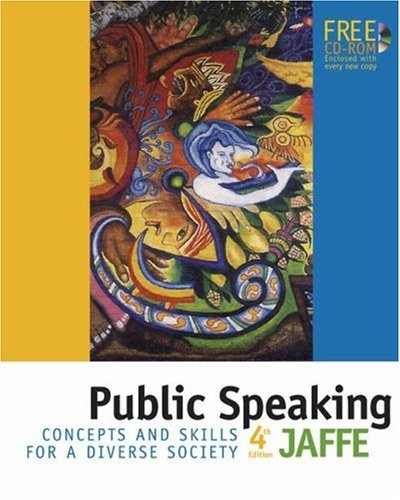 Public Speaking Concepts and Skills for a Diverse Society 4th 2004 (Revised) 9780534606510 Front Cover