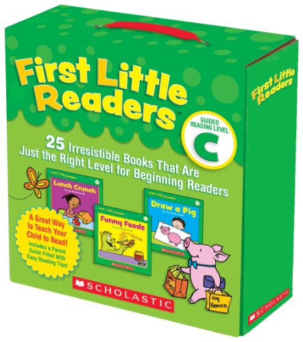 First Little Readers Parent Pack: Guided Reading Level C 25 Irresistible Books That Are Just the Right Level for Beginning Readers N/A 9780545231510 Front Cover