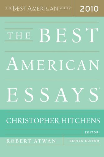 Best American Essays 2010   2010 edition cover