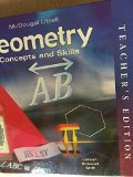 Geometry : Concepts and Skills Teachers Edition, Instructors Manual, etc.  9780618140510 Front Cover