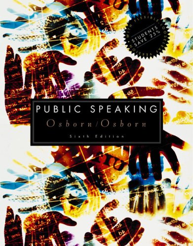 Public Speaking 6th 2003 9780618223510 Front Cover
