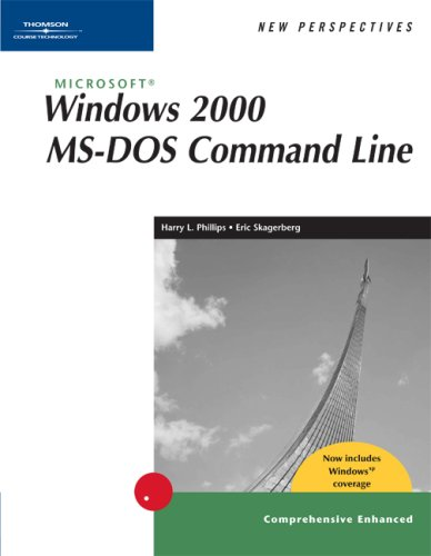 New Perspectives on Microsoft Windows 2000 MS-DOS Command Line, Comprehensive, Windows XP Enhanced  2nd 2003 (Revised) edition cover
