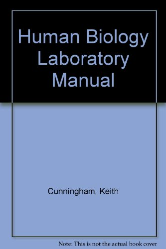 Human Biology Laboratory Manual Laboratory Manual 4th 2001 (Revised) 9780757526510 Front Cover