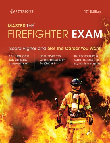 Master the Firefighter Exam  17th edition cover