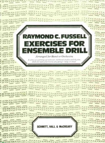 Fussell Exercises for ENS Drill   1985 edition cover