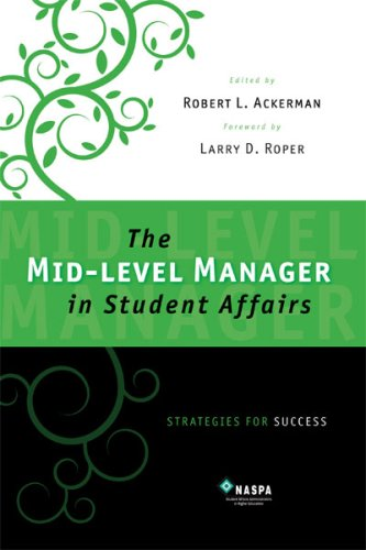 Mid-level Manager in Student Affairs Strategies for Success N/A edition cover