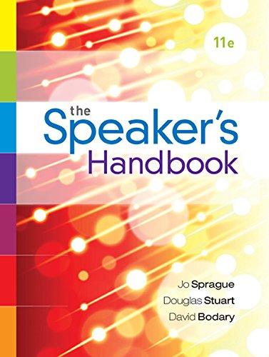 The Speaker's Handbook:   2015 edition cover