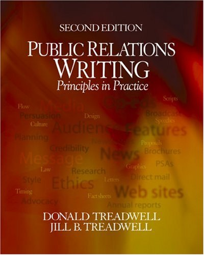 Public Relations Writing Principles in Practice 2nd 2005 (Revised) edition cover