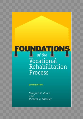 Foundations of the Vocational Rehabilitation Process  6th 2008 edition cover
