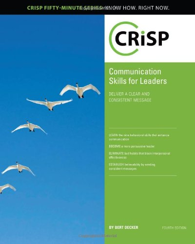 Communication Skills for Leaders  4th 2010 edition cover