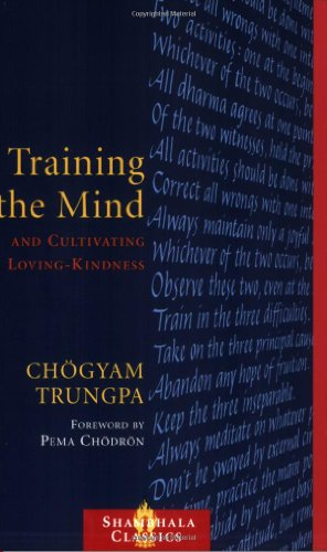 Training the Mind and Cultivating Loving-Kindness   1993 edition cover