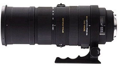 Sigma 73A205 150-500mm F/5-6.3 APO HSM DG Telephoto Zoom Lens for Sony DSLRs product image