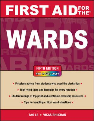 First Aid for the Wards  5th 2013 (Revised) edition cover