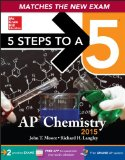 5 Steps to a 5 AP Chemistry, 2015 Edition  6th 2014 edition cover