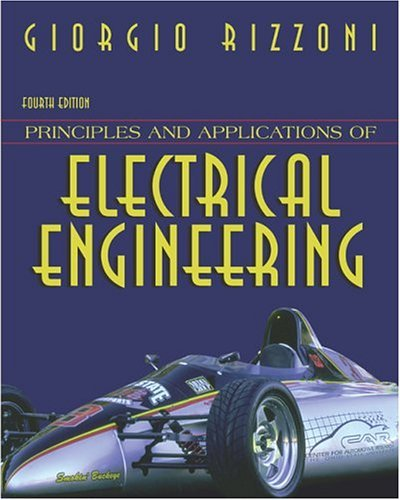 Principles and Applications of Electrical Engineering with OLC Passcode Bind-In Card 4th 2004 (Revised) edition cover