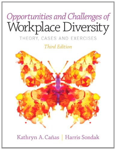 Opportunities and Challenges of Workplace Diversity  3rd 2014 edition cover