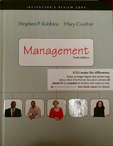 Management& mymanagmtlab w/rolls studt A/c  10th 2009 edition cover