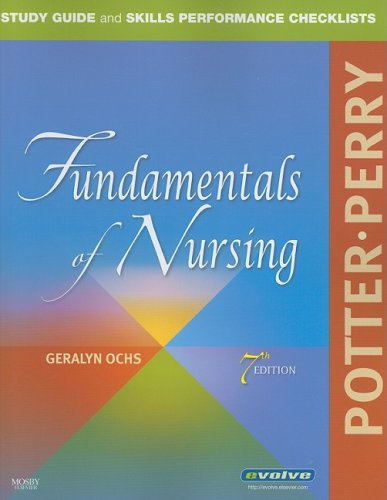 Fundamentals of Nursing  7th 2008 (Guide (Pupil's)) edition cover