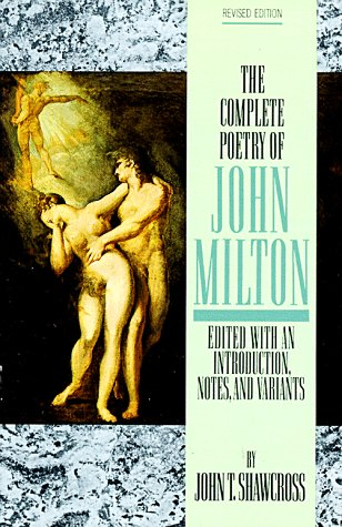 Complete Poetry of John Milton  Reprint  edition cover