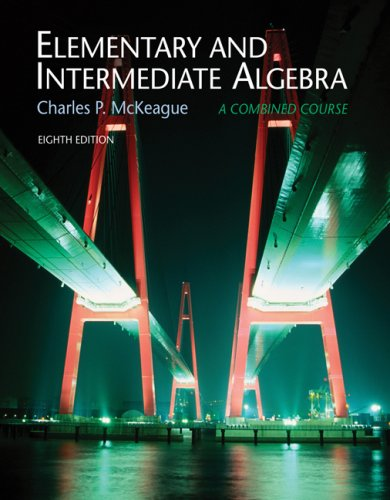 Elementary and Intermediate Algebra  3rd 2008 (Revised) 9780495108511 Front Cover
